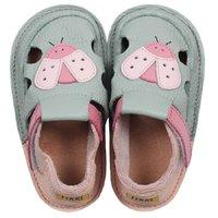 Sandale Barefoot copii - Classic Buburuza verde