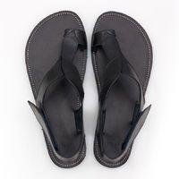 Sandale Barefoot cu baretă pe deget - Onyx - în stoc