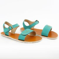 VIBE piele - Golden Turquoise