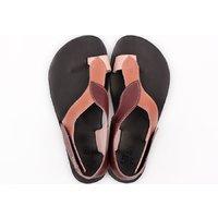Sandale damă barefoot 'SOUL' -  Sangria